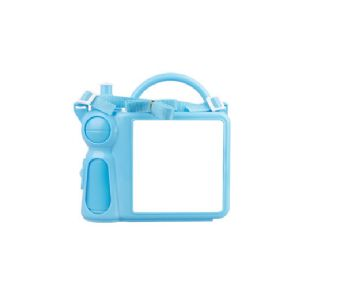 Personalised Lunch Boxes with Handle - Blue